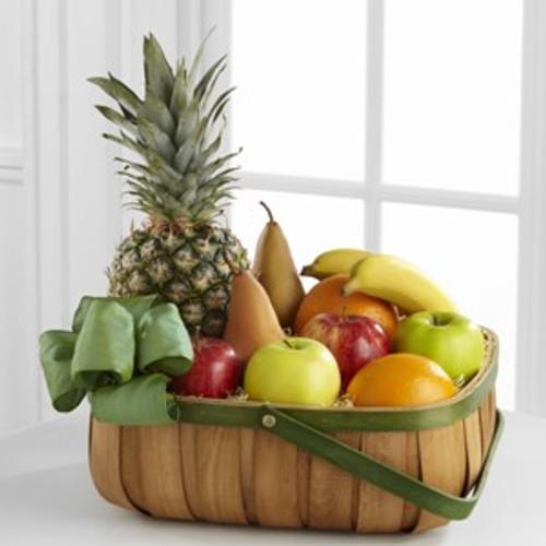 Classic Fruit Basket Flowers Long Island