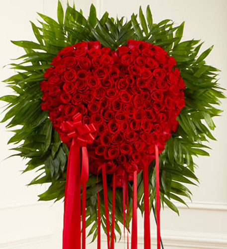 Red Rose Bleeding Heart Flowers Long Island