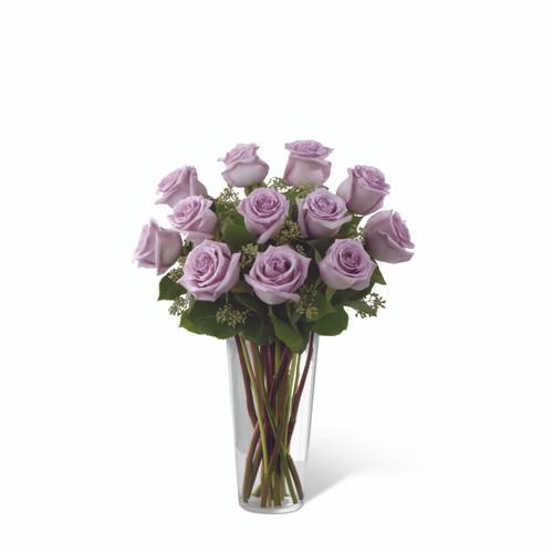 Dozen Lavender Roses Long Island Florist