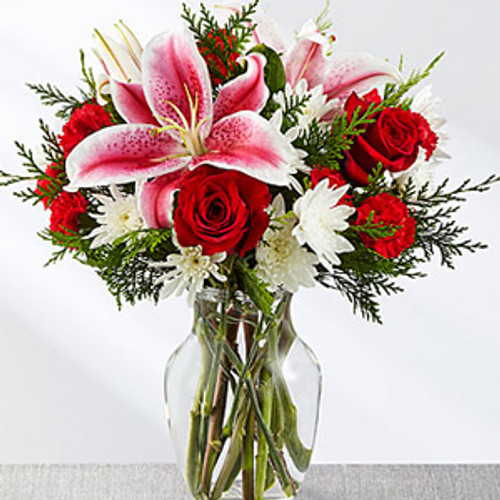 FTD Frosted Findings Bouquet Long Island Florist