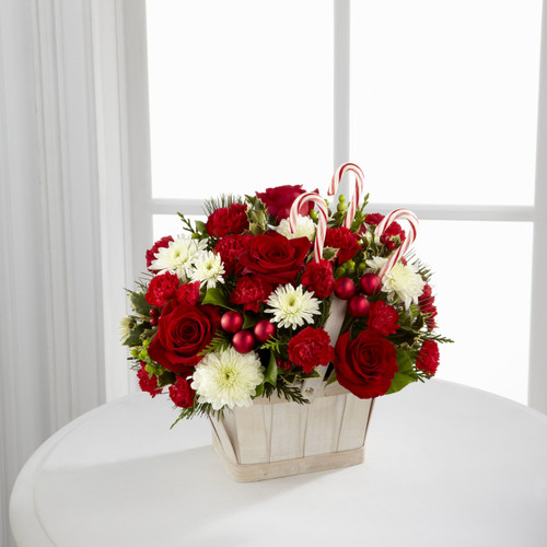 Candy Cane Lane Bouquet Long Island Flower Delivery