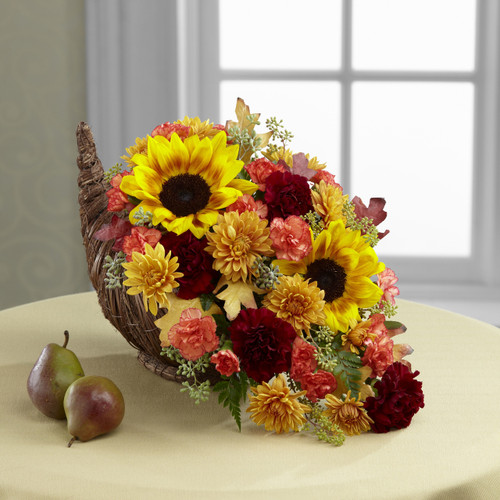 Fall Harvest Cornucopia by Better Homes and Gardens Flowers Long Island