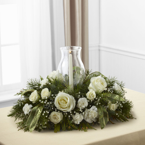 Glowing Elegance Centerpiece Florist Long Island NY