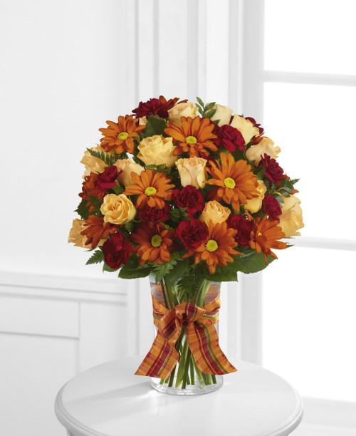 Golden Autumn Bouquet Flowers Long Island