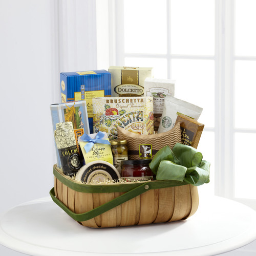 Heartfelt Sympathies Gourmet Basket Long Island Flower Delivery