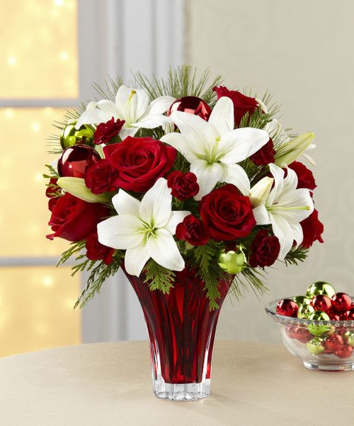 Holiday Wishes Bouquet Florist Long Island NY