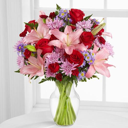 Irresistible Love Bouquet Flowers Long Island