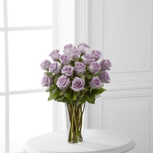 Lavender Rose Bouquet Flowers Long Island