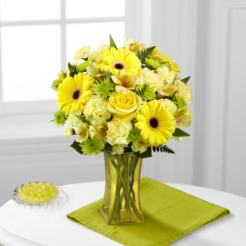 Lemon Groove Bouquet Florist Long Island NY