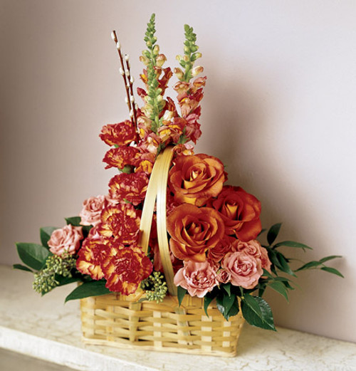 Remembrance Basket Long Island Flower Delivery