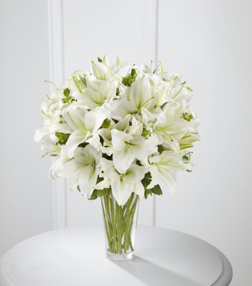 Spirited Grace Lily Bouquet Long Island Flower Delivery