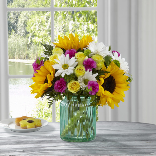 Sunlit Meadows Bouquet by Better Homes and Gardens Florist Long Island NY