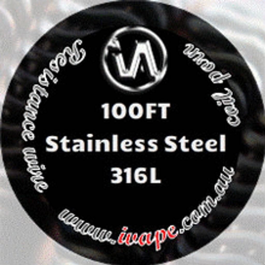 100FT Stainless Steel 316L