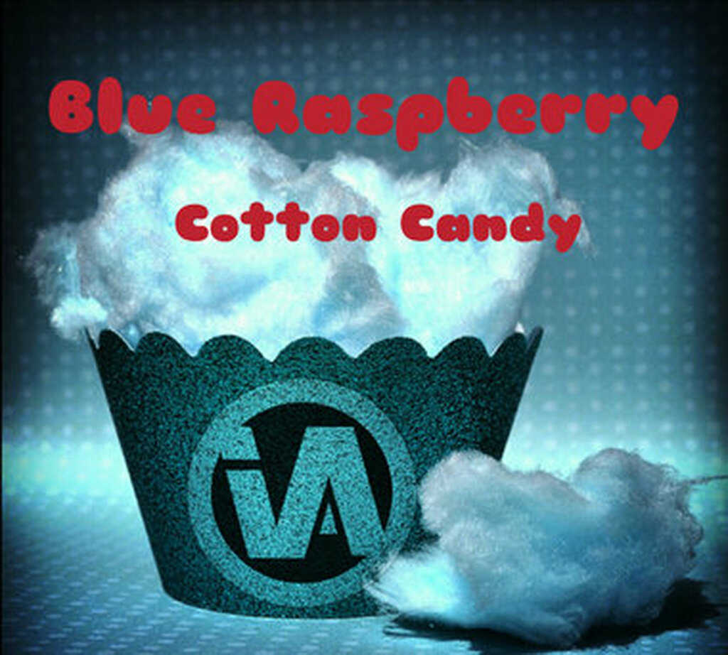 10ml Blue Raspberry Cotton Candy concentrate