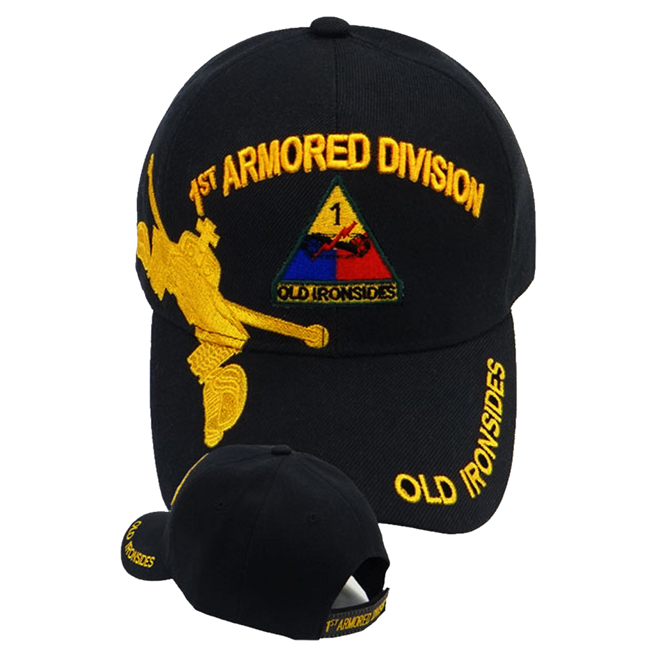 0d8d2272cab 1st Armored Division Caps Old Ironsides - US Military Hats
