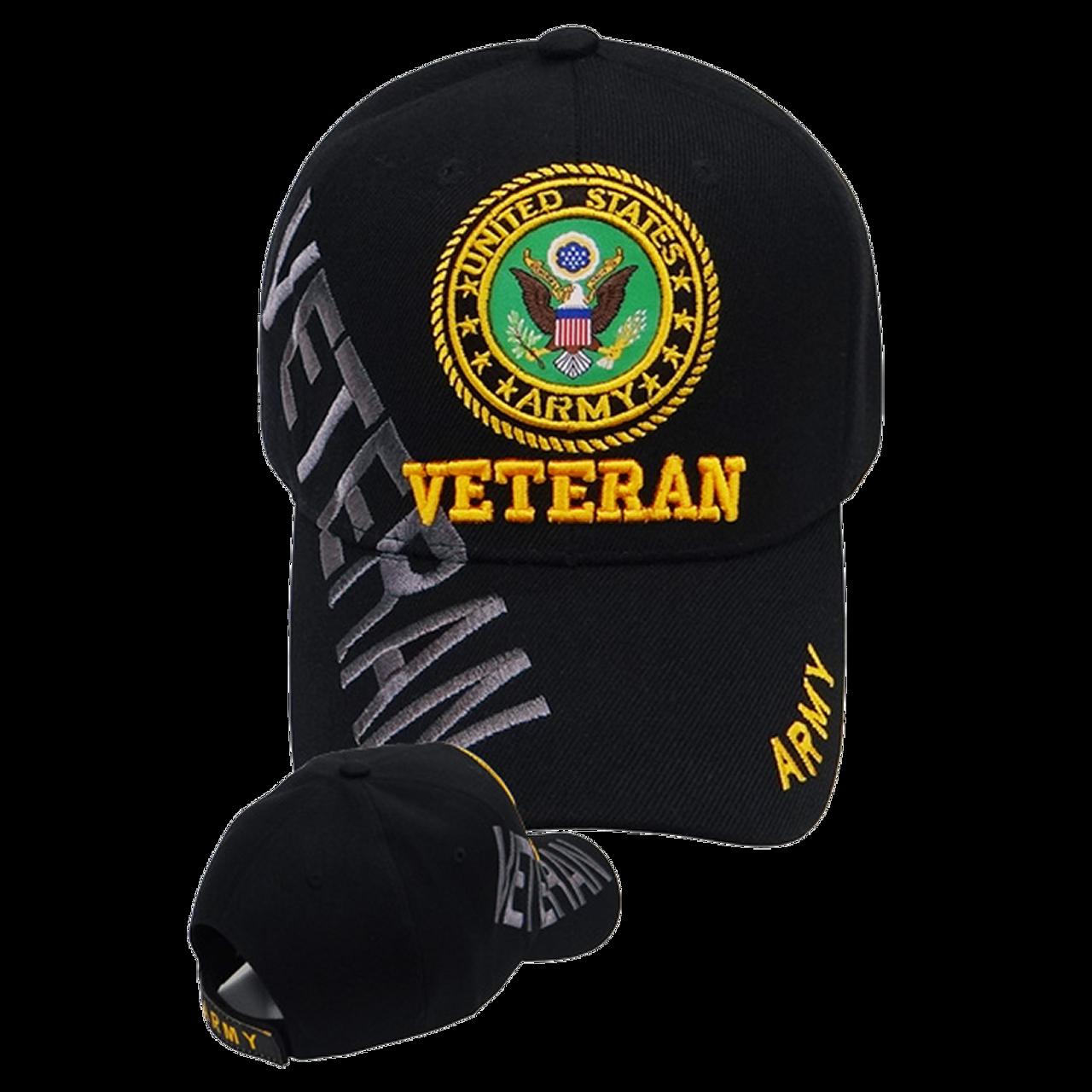 a2469d94966 Army Veteran Shadow Cap Black