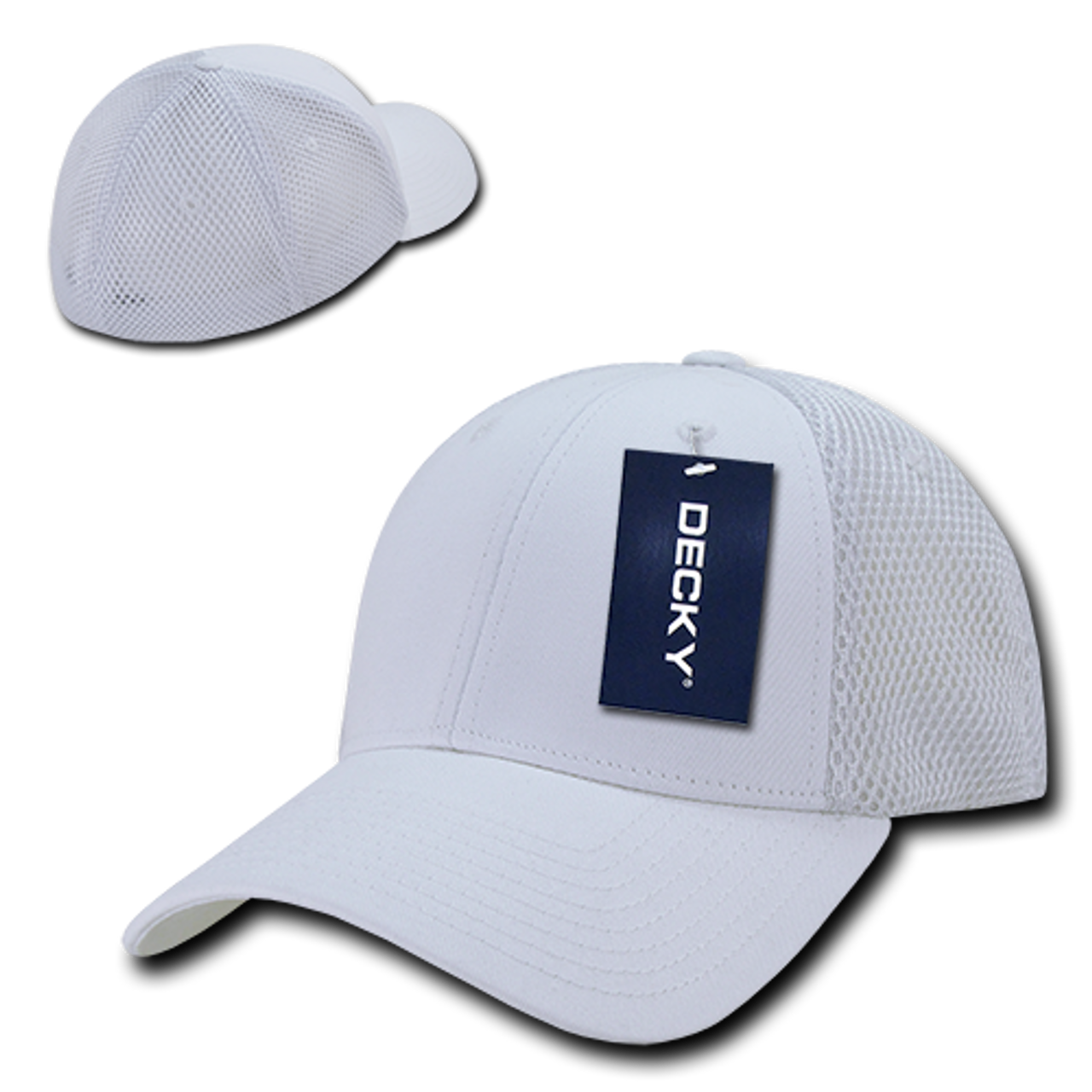 8585effef Air Mesh Flex Baseball Cap - White/White