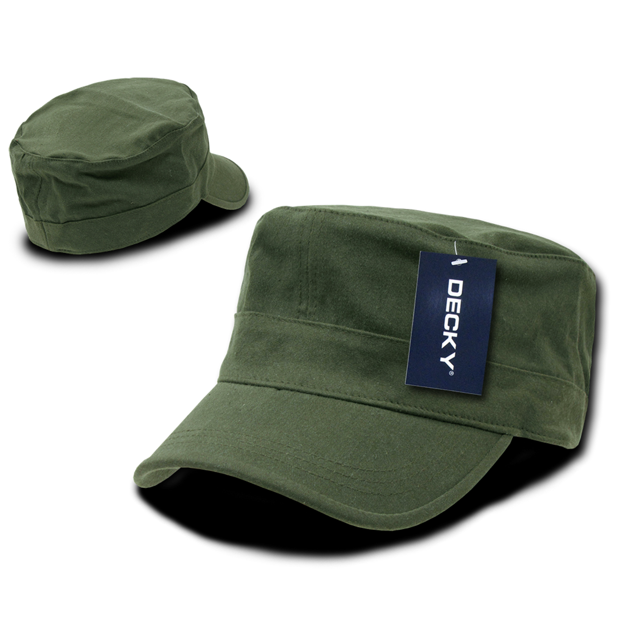 Flex Cadet Style Cap - Olive