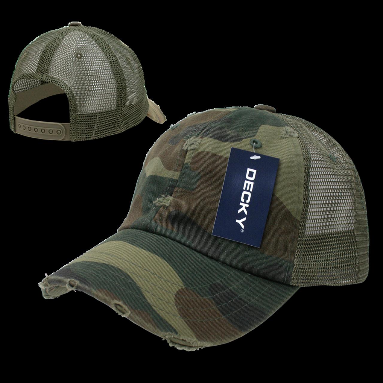 3623ac24fe6 Vintage Mesh Cap - Woodland Camouflage - U.S. Military Hats.com