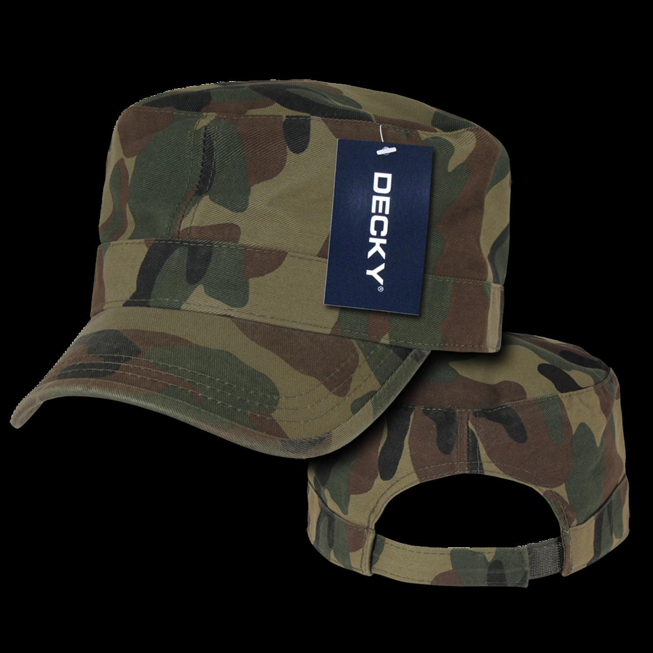 4ac3513f19e Washed GI Cap - Woodland Camouflage - U.S. Military Hats.com