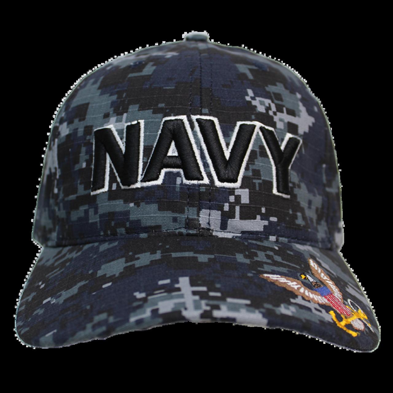 83bce3748 21561 - U.S. Navy Cap - Made in USA - Navy Digital Camo