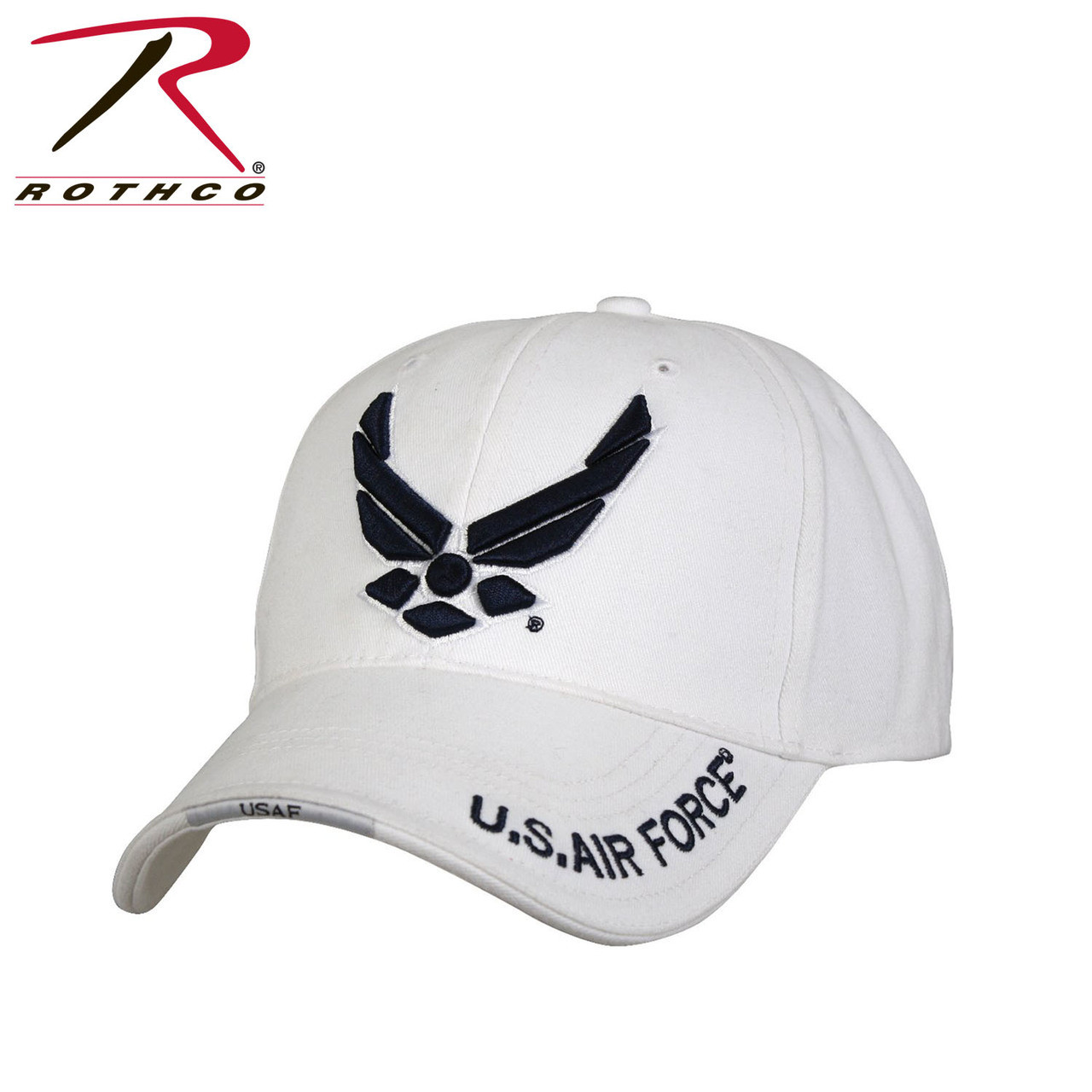 2d670825293 Rothco Deluxe U.S. Air Force Wing Low Profile Insignia Cap (Item  9154) ...