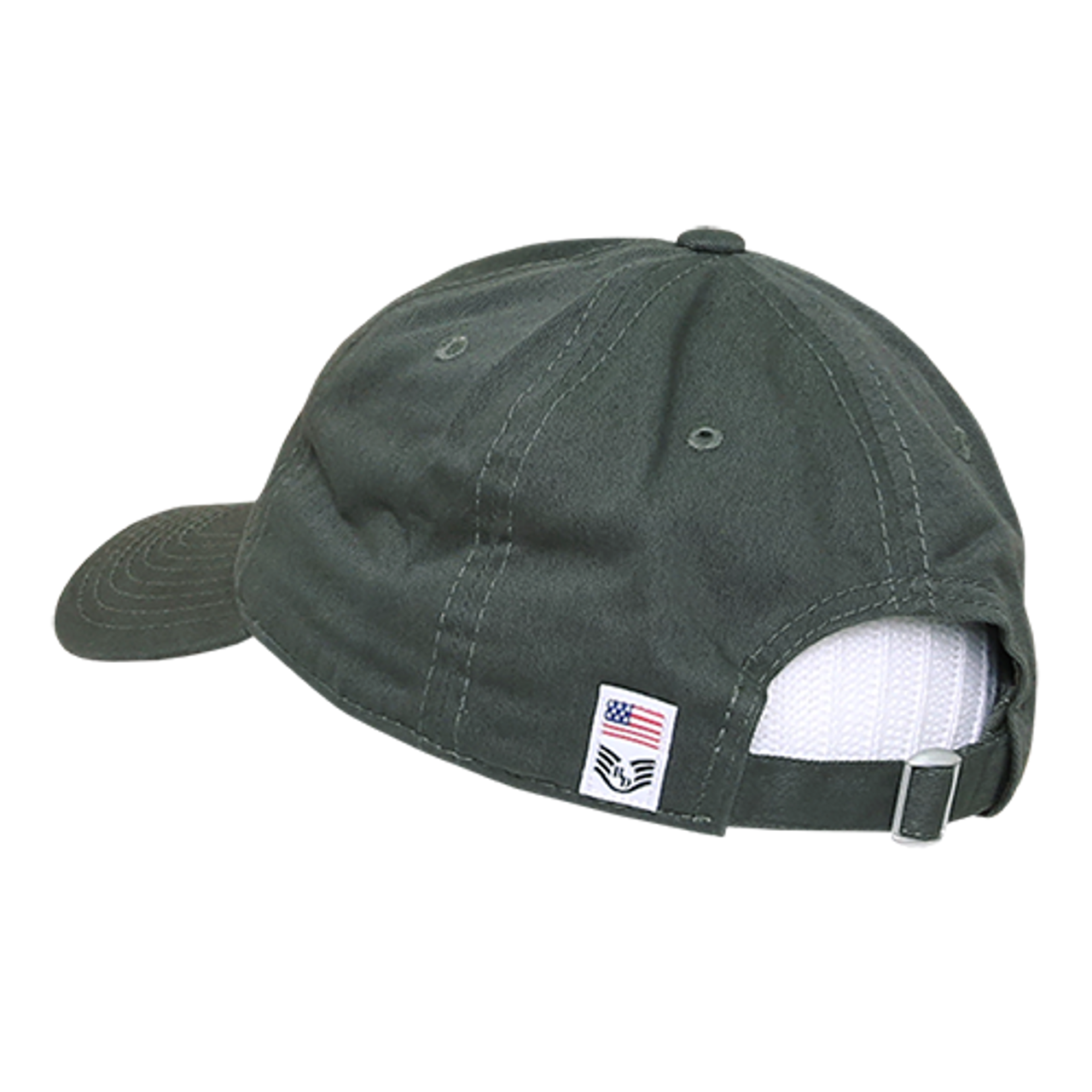 A03 - Freedom USA Flag Cap - Relaxed Cotton - Olive Drab - U.S. ... 95078a91b
