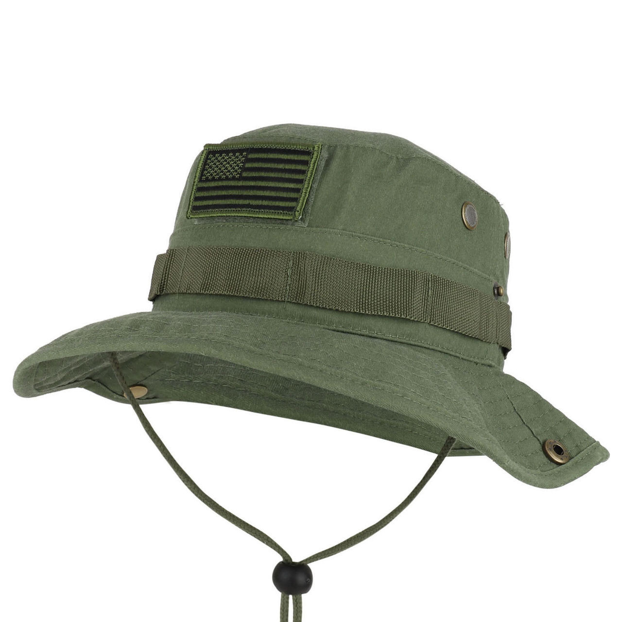 9797344ba7237 6770 Eagle Crest Boonie Hat Olive Drab 100% Cotton (OSFM)