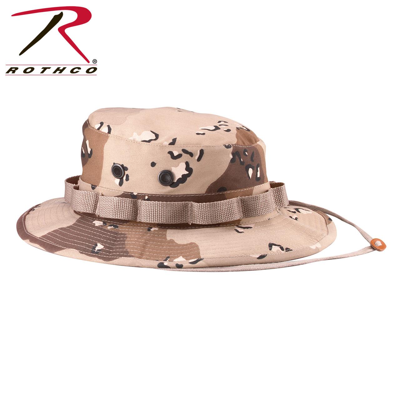 5b373948f5e Rothco Desert Woodland Camo Boonie Hats
