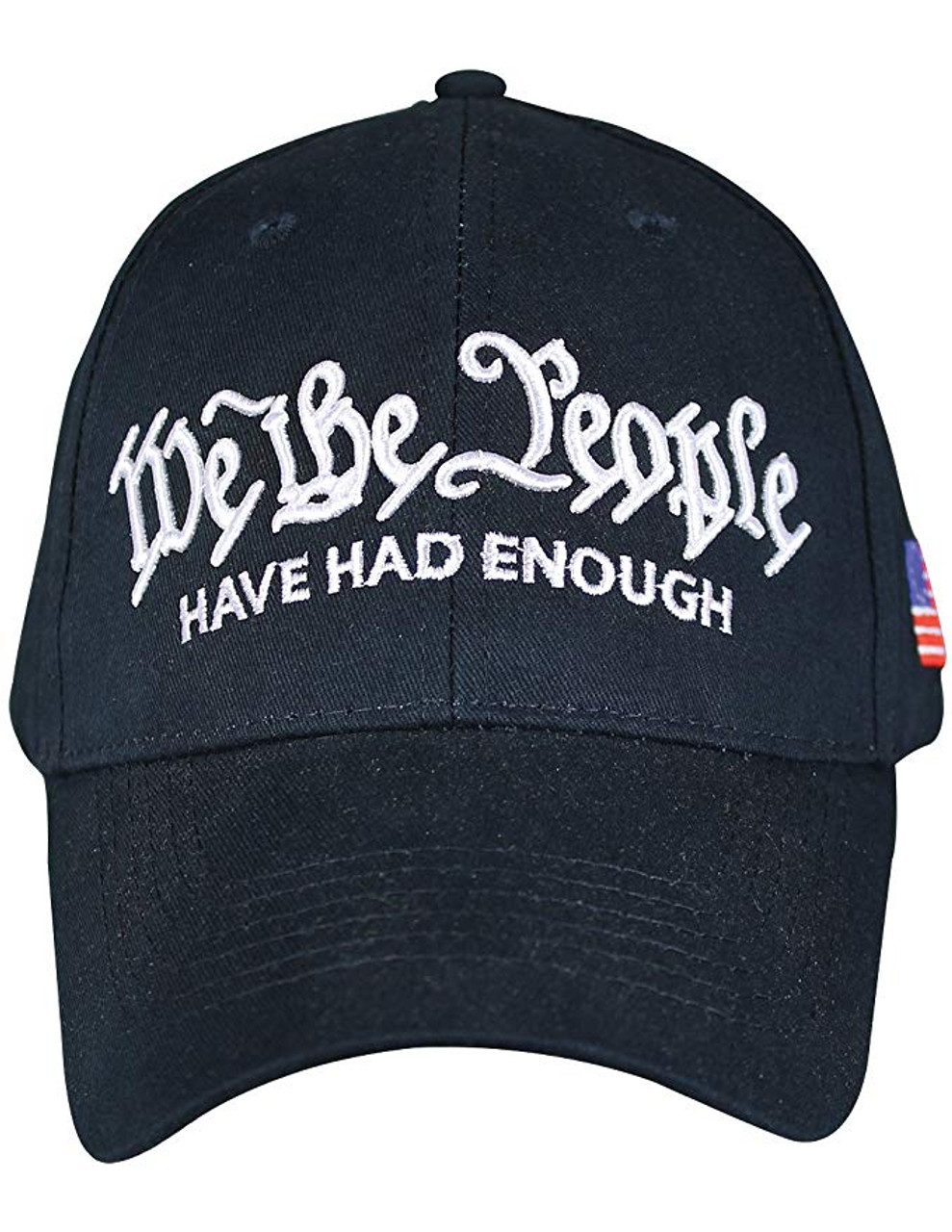 143df19d24765 6705 - We The People Cap - Have Had Enough - Cotton -Dark Blue -  USMILITARYHATS.COM