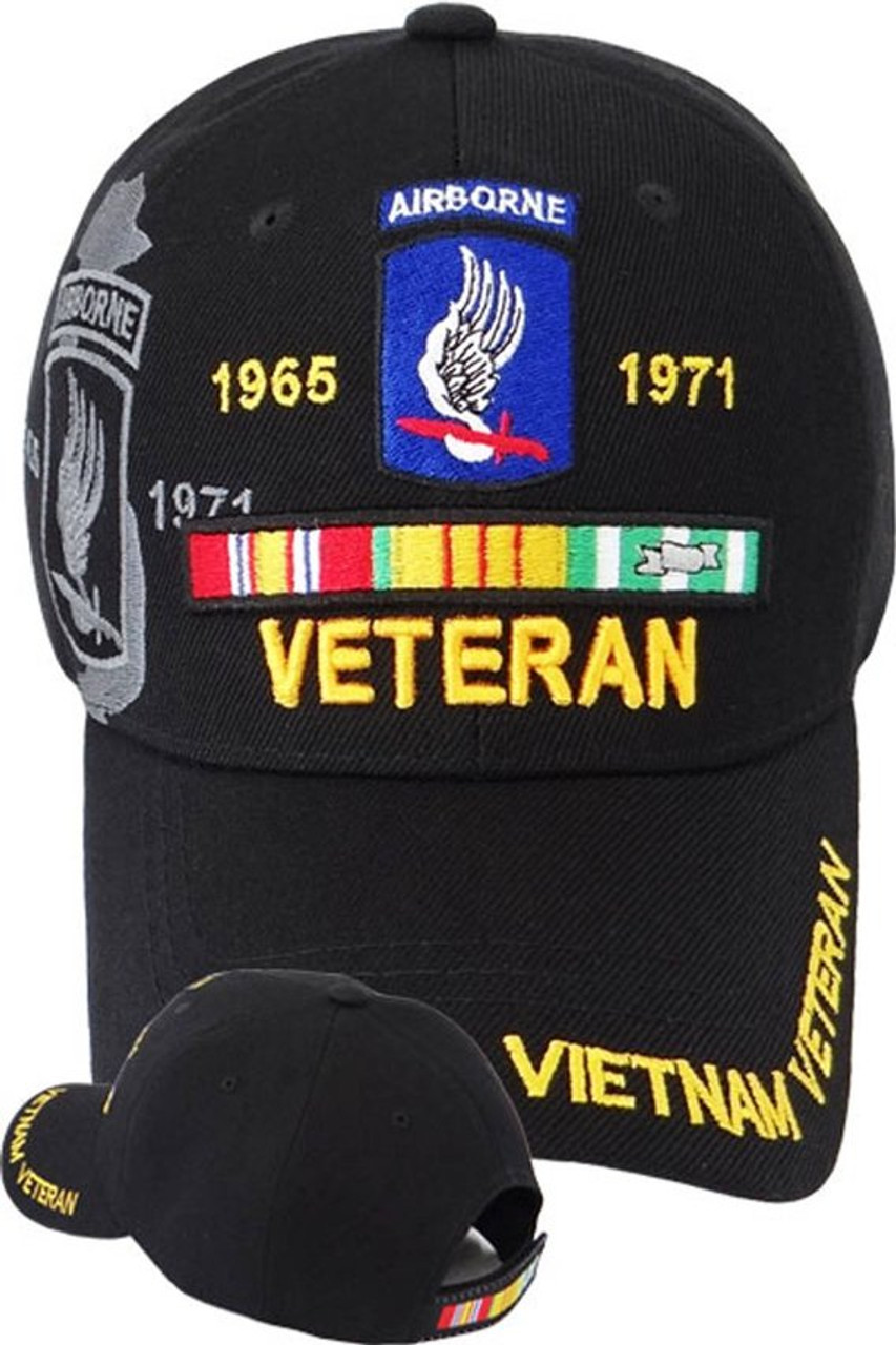 New U.S Military Army 173rd Airborne Hat 3-D Embroidered Legend Baseball Cap