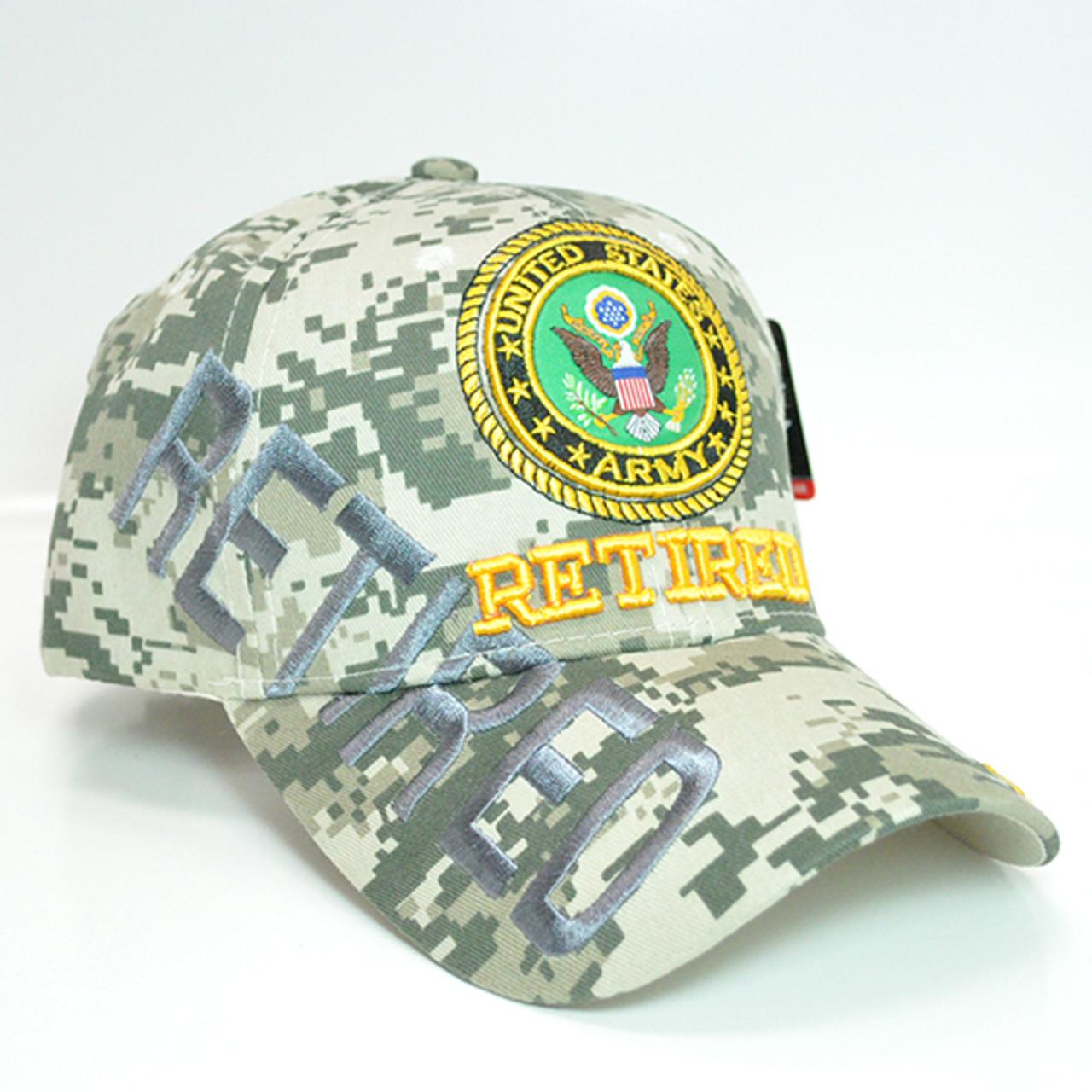 ARMY hat Military ARMY logo Baseball cap Official Licensed-ACU Digital camo U.S