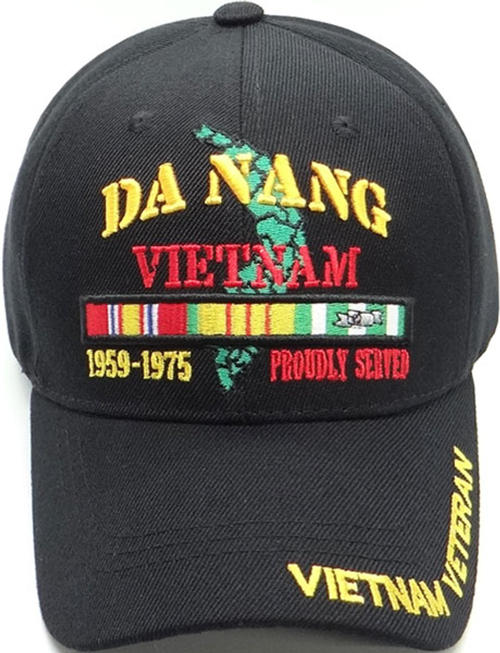 U.S NAVY VIETNAM VETERAN RETIRED HAT U.S MILITARY OFFICIAL BALL CAP U.S.A MADE