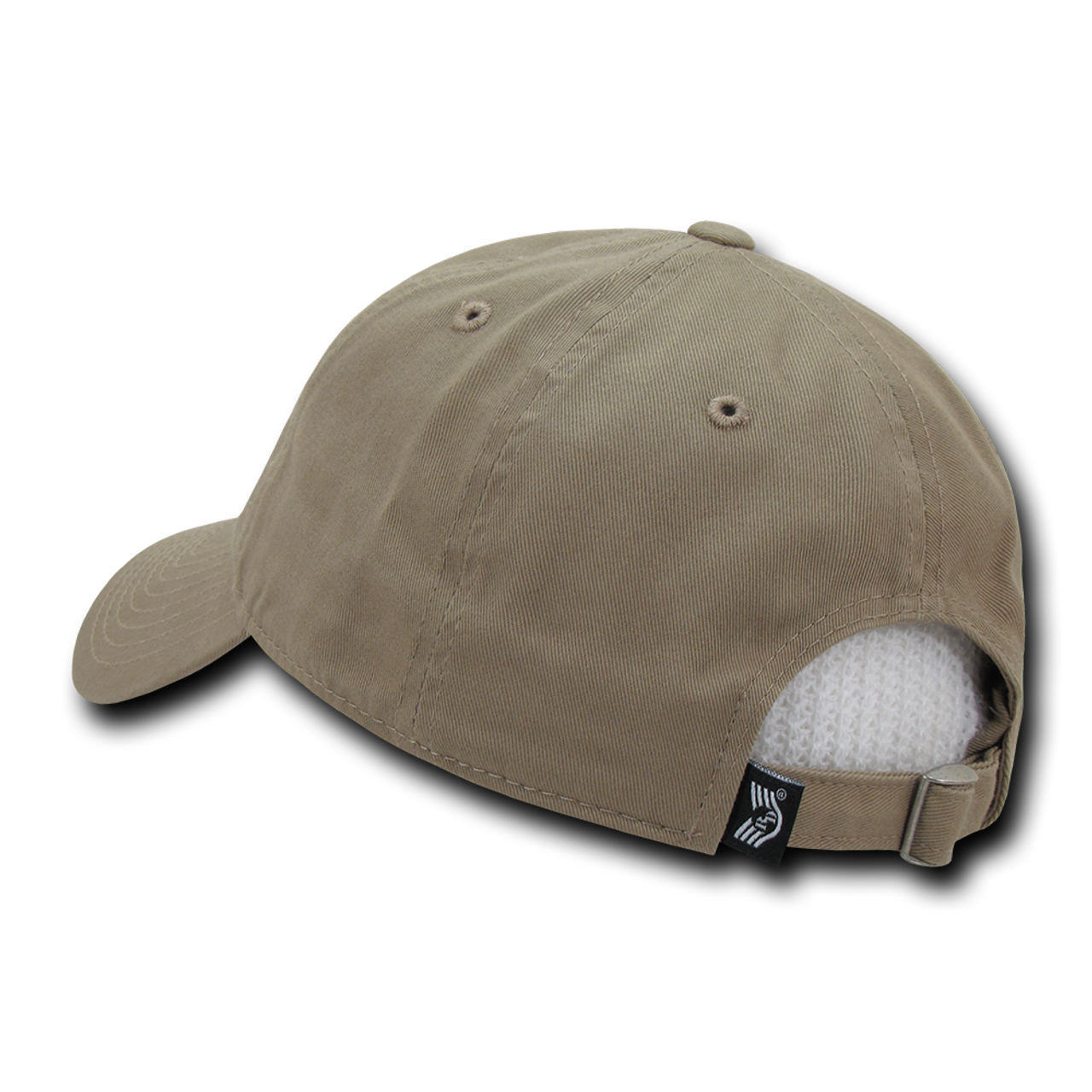 bcbf20f2810 Tactical Cap Relaxed Cotton US Flag Khaki - US Military Hats
