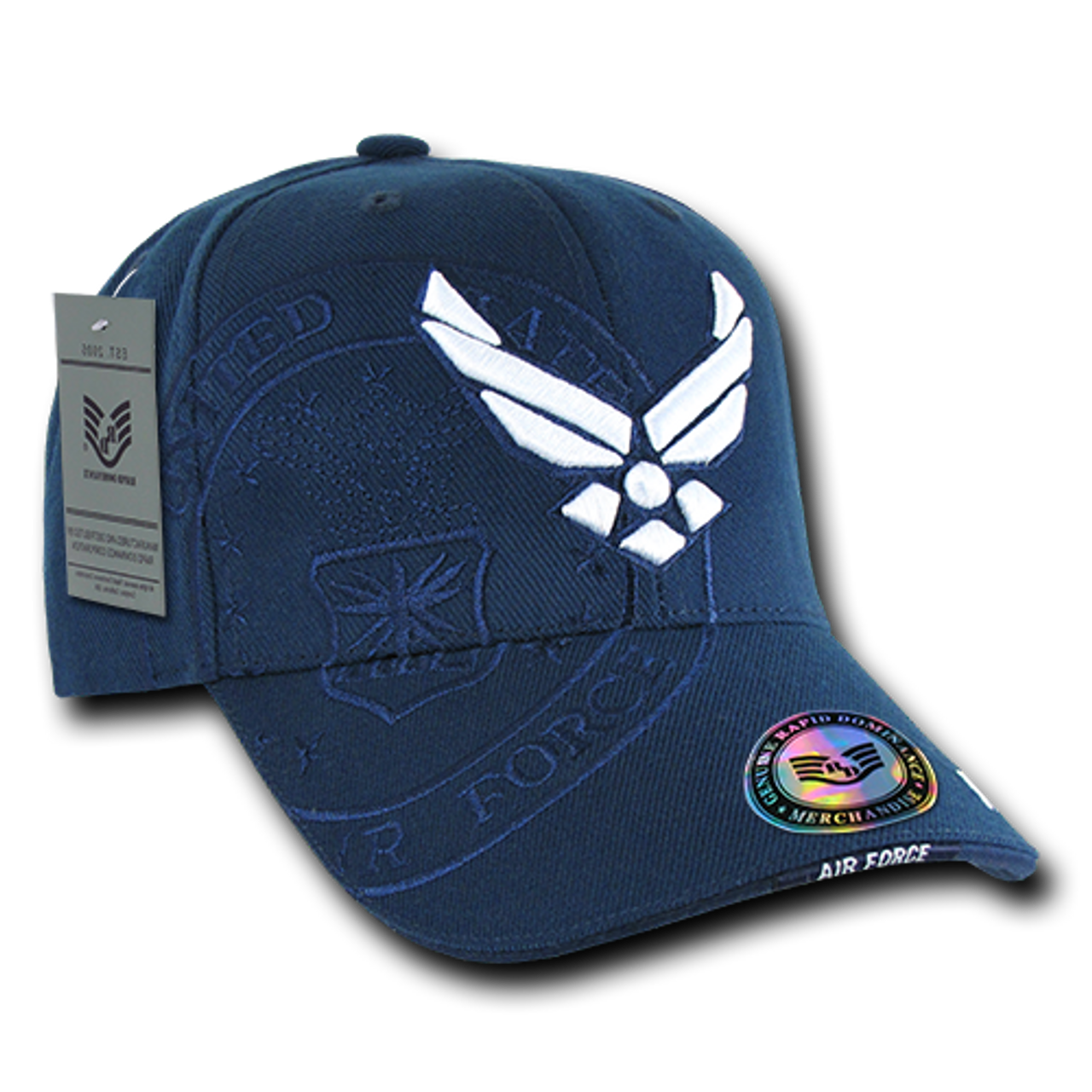 0ff72cda2a4 Air Force Shadow Cap With Air Force Wings Logo