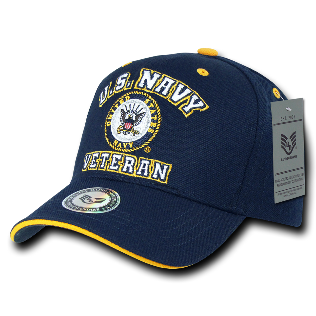 Vet Veteran Cap Us Navy Navy Us Military Hats - Us-military-vet