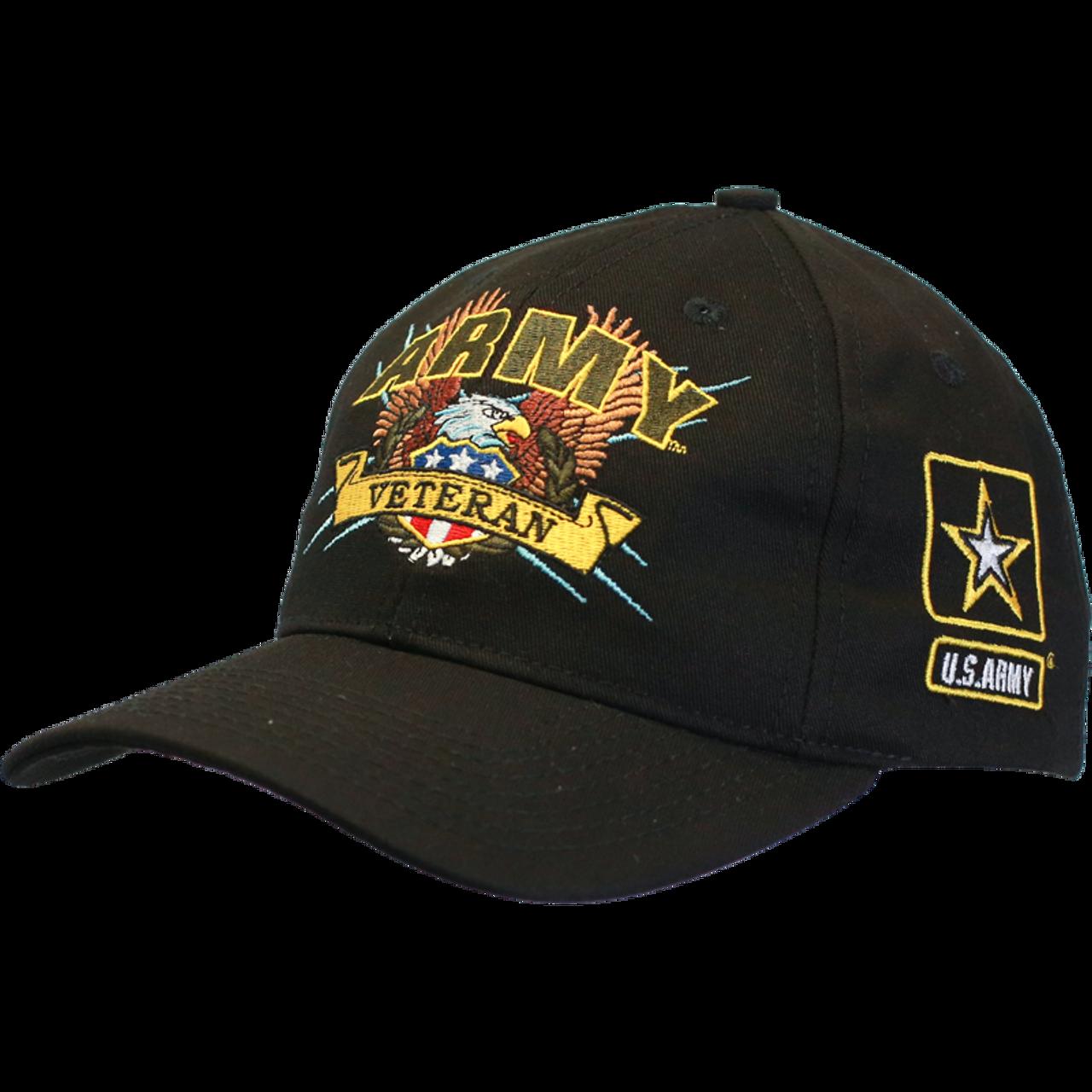 223f63d7a6d 19247 - Made In USA Military Hat - U.S. Army Veteran ...