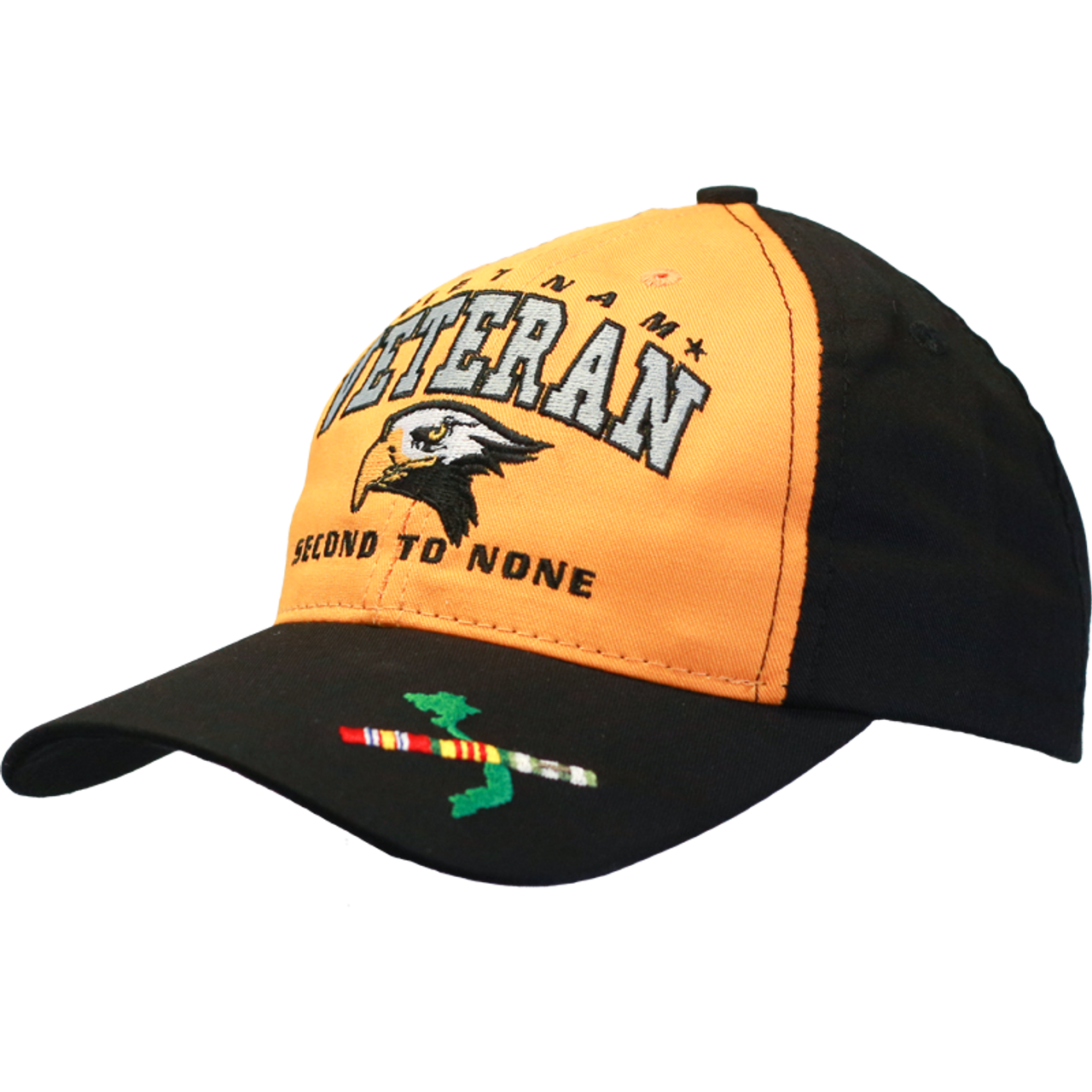 7479cc932cfad ... 26290 - Made In USA Military Hat - Vietnam Veteran - Second to None ...