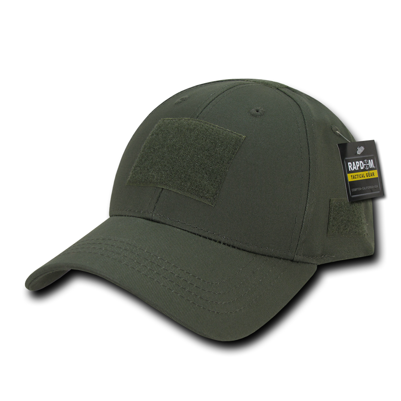 T78 - Tactical Cap - Low Crown Structured Cotton - Olive Drab -  USMILITARYHATS.COM c1799fdf8a82
