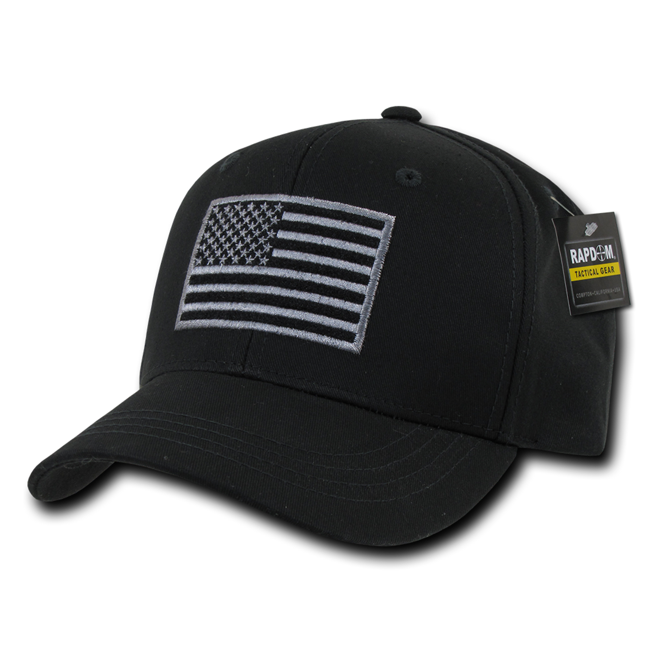 e83aaf46fb32a ... T76 - Tactical Operator Cap - American Flag Subdued - Black ...