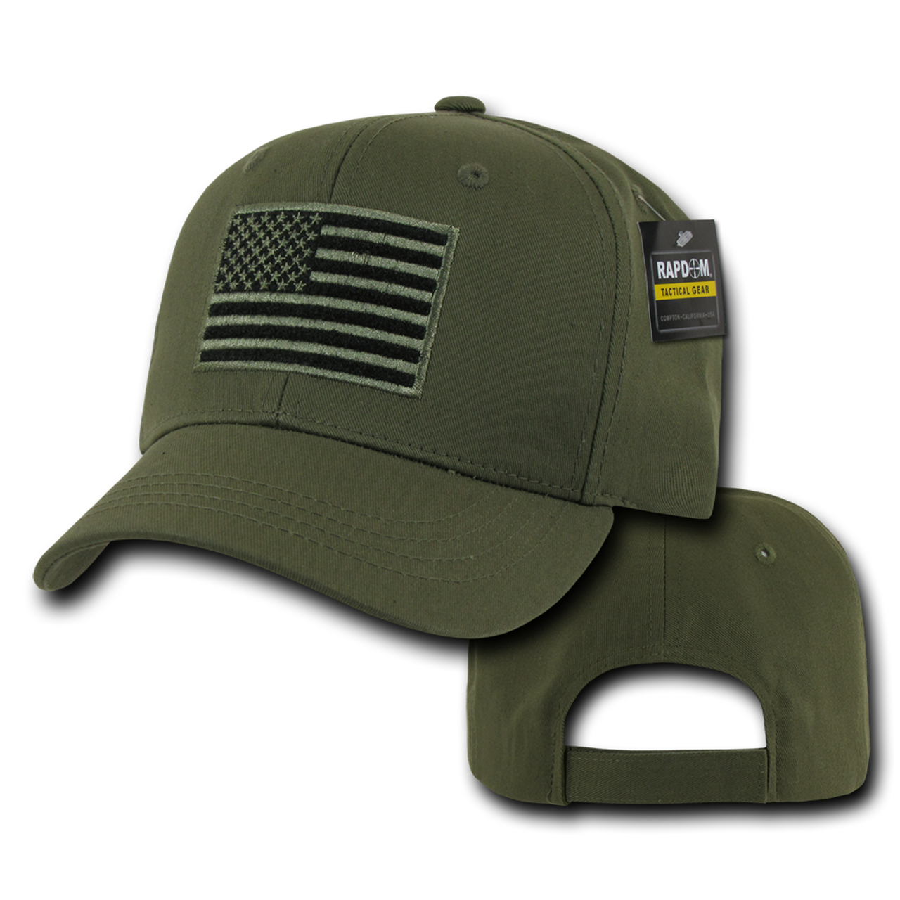 bb4f25e0f85 ... T76 - Tactical Operator Cap - American Flag Subdued - Olive Drab ...
