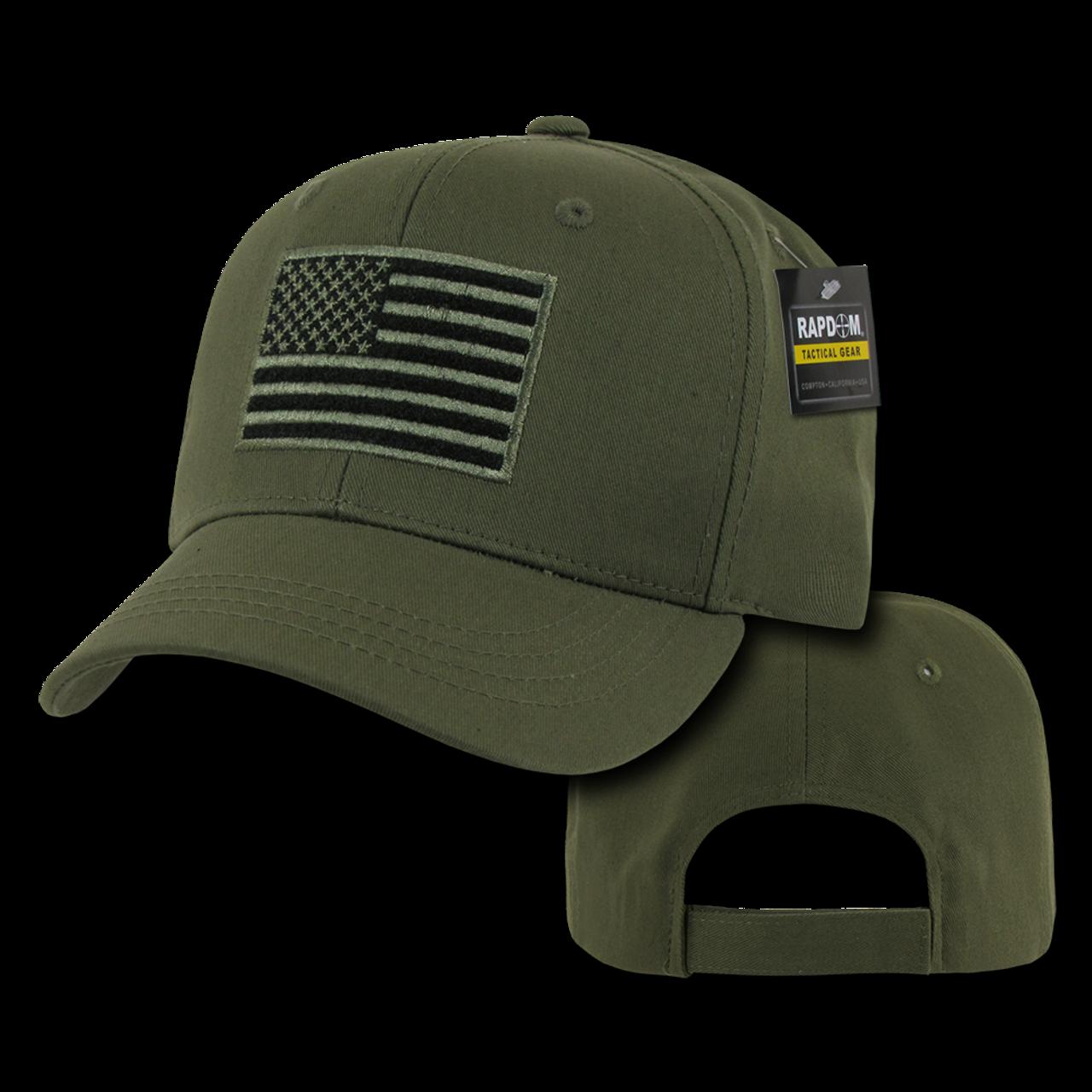 T76 - Tactical Operator Cap - American Flag Subdued - Olive Drab -  USMILITARYHATS.COM 26958a2a2fc