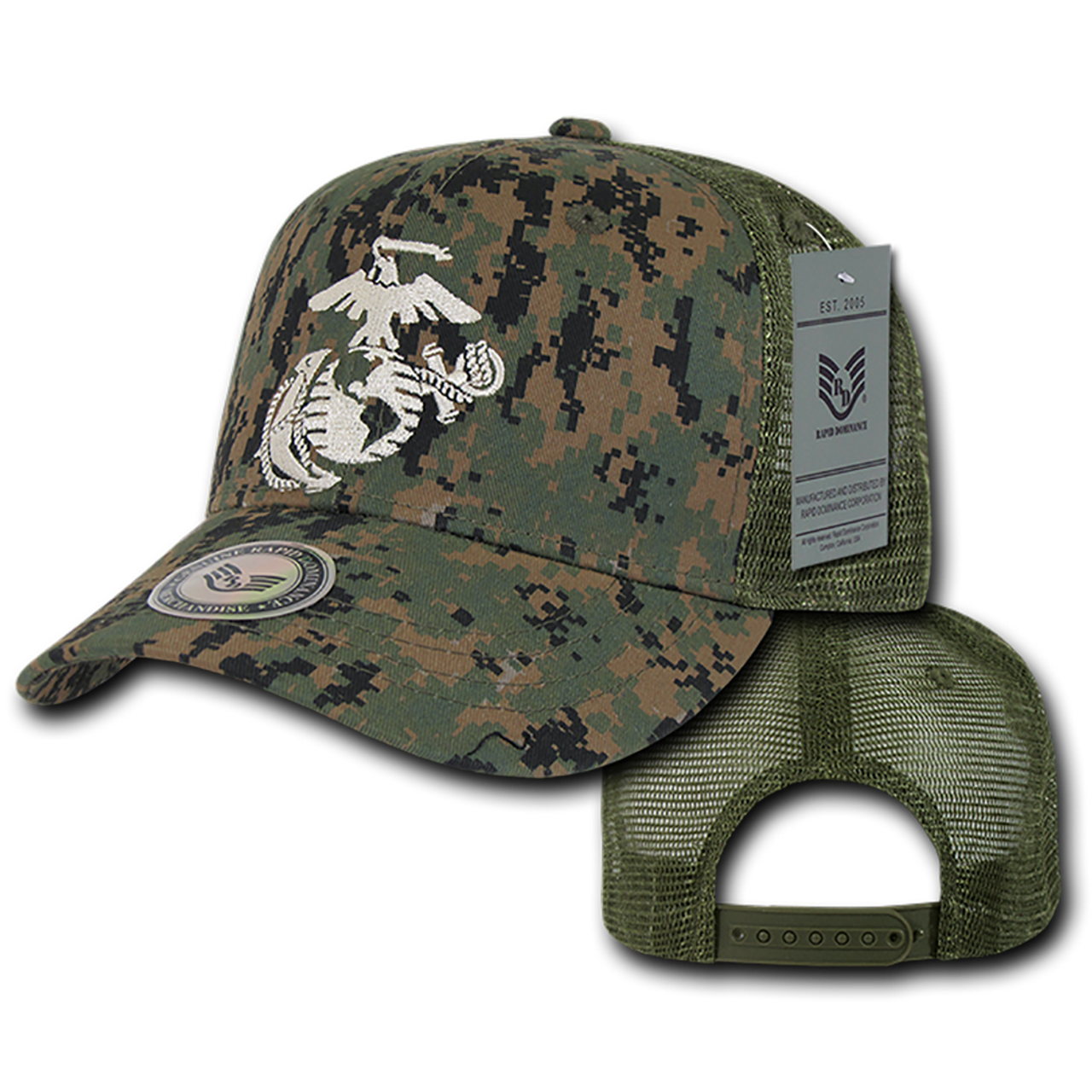 c68714d0d65 ... S77 - U.S. Marine Corps Cap - Back to Basics - Trucker Mesh - MCU  Digital ...