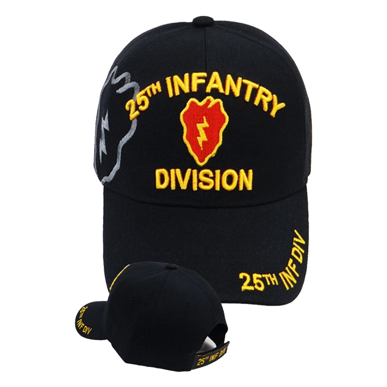 25th Infantry Division Shadow Cap - Black