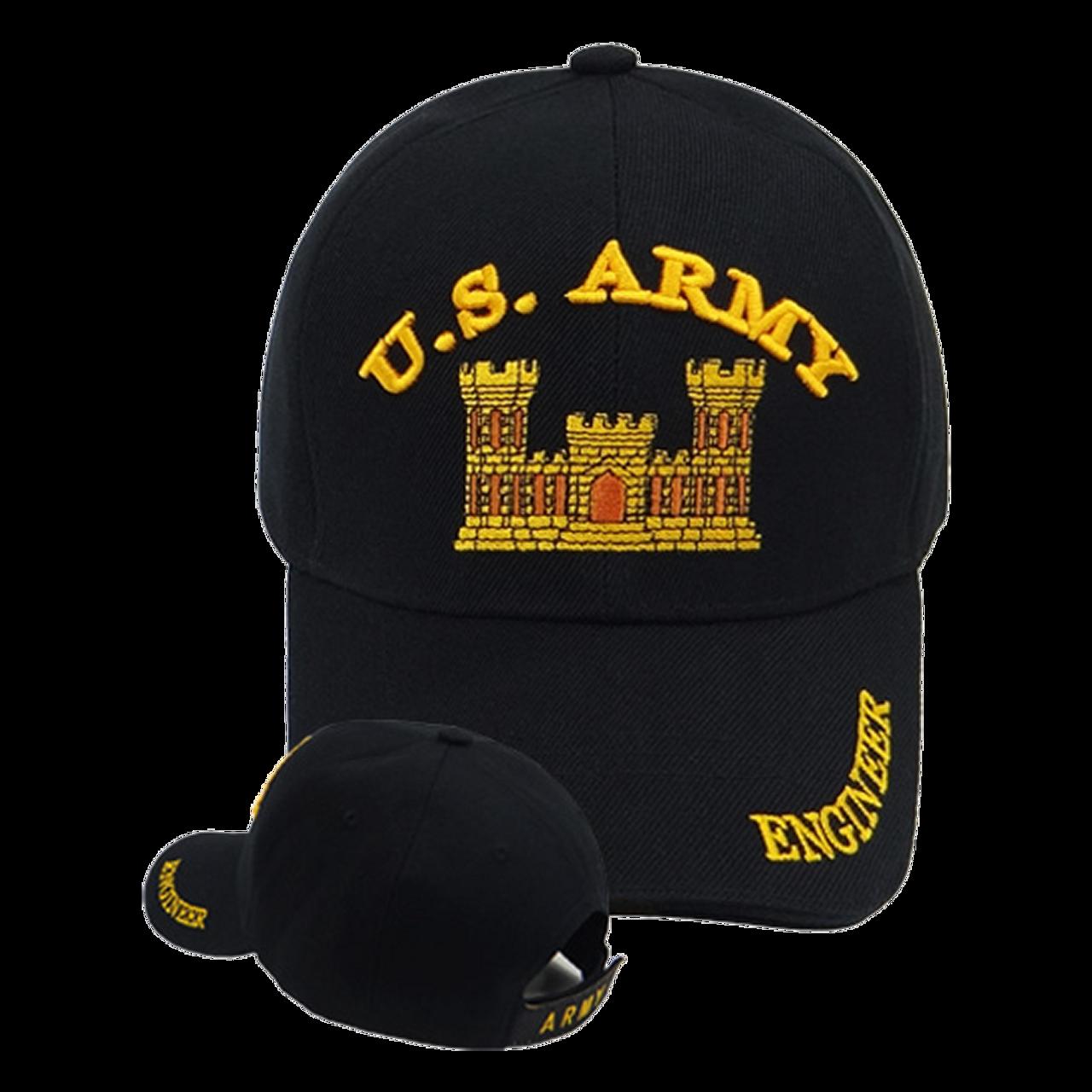 393caa51b50 Army Combat Engineer Cap - US Military Hats