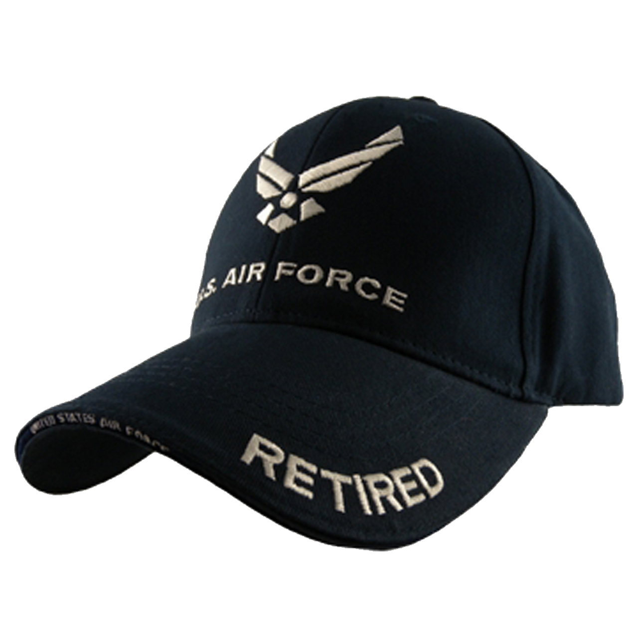 Eagle Crest 5343 - U.S. Air Force Retired Cap - Cotton - Dark Navy 0c13b603820e