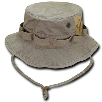 ee619ac45dc R70 - Vintage Washed Jungle Boonie Hat - 100% Cotton - Khaki