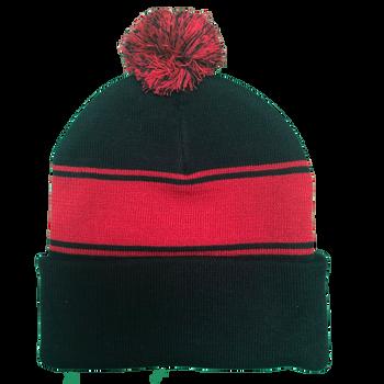 ee2e14cd0a3 36237 - U.S. Marines Knit Beanie Hat with Pom Pom - Black Red