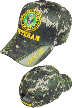 f325f1c48b4 U.S. Army Veteran Shadow Cap - Air Mesh - Digital Woodland Camouflage