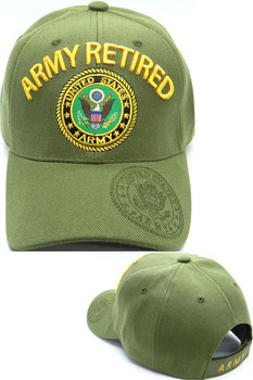 U.S. Military - Retired Veteran Hats - Page 1 - USMILITARYHATS.COM a017247128f4